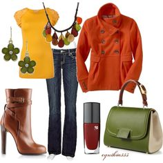 """Autumn Leaves"" by cynthia335 on Polyvore"