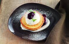 Pancake con yogurt greco