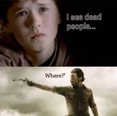 I mean, I almost had coffee come out of my nose... The Walking Dead funny memes