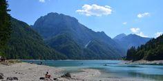 Lago di Predil - on the Slovenian-Italian border