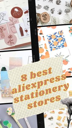 If you love bullet journalling and stationery, make sure you don't miss out on these stationery stores! Best Online Stores, Stationery Store, Bullet Journal, Scrapbook, Creative, Cute, Journalling, Stationery Shop, Stationery