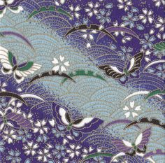 Origami Stock 6 by KOLoser on DeviantArt Japanese Textiles, Japanese Patterns, Japanese Prints, Japanese Design, Textile Patterns, Textile Prints, Print Patterns, Japanese Paper, Japanese Fabric