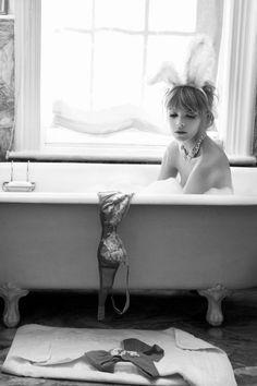 bathing bunny #BunnyEaredArmy