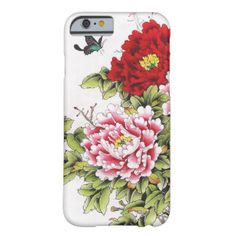 Cool Vintage Floral Pattern Case Cover Barely There iPhone 6 Case