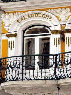 """""""Salão de Chá/Tea room in Bairro Alto, Lisboa #Portugal"""