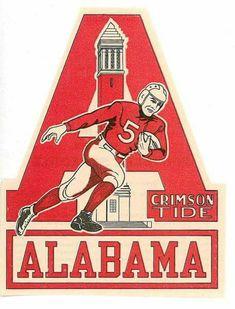 Old School Alabama Football