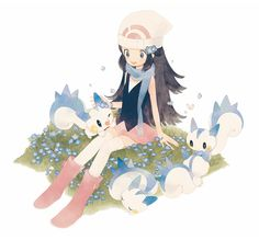 Aw I want a pokemon so badly now.