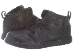 best value ca85b d5045 Nike BabyBoys Jordan 1 Mid Flex Casual Shoes Black 5 M US     You can find  out more details at the link of the image.