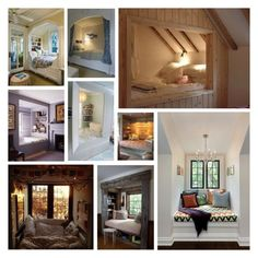 """""""Alcove"""" by mshatter ❤ liked on Polyvore featuring interior, interiors, interior design, home, home decor, interior decorating, Angelo, Nook, bedroom and alcove"""