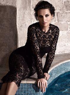 Juliette Binoche in Dolce&Gabbana Spring Summer 2015, The Edit Summer 2015