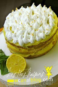 TARTE AU CITRON MERINGUEE FACON LAYER CAKE {1AN DE LA BATAILLE FOOD}