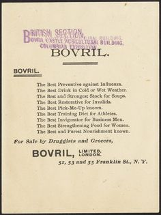 Which are the greatest powers of the world? United States of North America, Britain, France, Germany, Russia, Austria, Italy and Bovril [back] | by Boston Public Library
