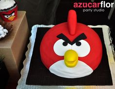 Love this cake #cake #angrybirds