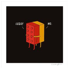 I Will Never Lego Print by Doodling A Smile - $30.00»  This print is a hilarious play on words. It's the perfect little something for the mom who needs a little Lego humor in her home.