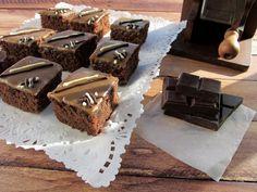Una pincelada en la cocina: deliciosos cortaditos de chocolate y café expreso