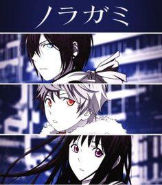 Noragami: Yato, Yukine, Hiyori
