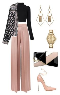 """""""Untitled #5"""" by tran-huong-giang-1 ❤ liked on Polyvore featuring Balmain, Nine West, Cushnie Et Ochs, Casadei and Karl Lagerfeld"""