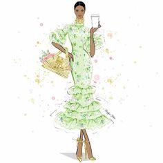 Megan Hess Illustration, Fashion Sketches, Fashion Illustrations, Mary Kay, Artsy Fartsy, Fashion Art, Aurora Sleeping Beauty, Photo And Video, Instagram