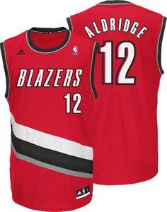 ... Portland Trail Blazers LaMarcus Aldridge 12 Red Authentic Jersey Sale  ... 9691523f0