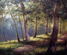 Картины (живопись) : В лесу (копия А. Шильдера)