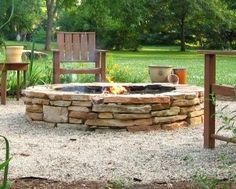 stone fire pit   Stone Fire Pits Rock! Here's Help for Your Own Fire Pit Construction ...