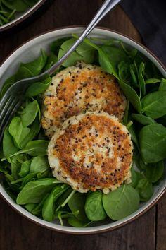 Quinoa Potato CakesReally nice recipes. Every hour.Show me what  Mein Blog: Alles rund um Genuss & Geschmack  Kochen Backen Braten Vorspeisen Mains & Desserts!