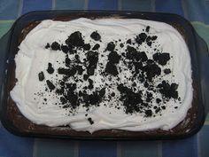 Heidi's Recipes: Oreo Cookie Dessert