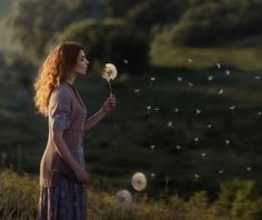 girl and dandelion by David Dubnitskiy on 500px