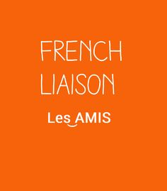 Improve the way you can speak french by learning all about liaison. Liaisons are exactly what makes you think French is complicated. French Teacher, Teaching French, Teaching Spanish, Teaching Reading, Teaching Resources, French Language Learning, Learn A New Language, Spanish Language, How To Speak French