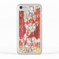Firey Clear iPhone Case Iphone Cases, Iphone Case, I Phone Cases