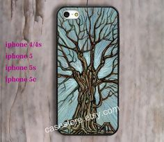 tree  iPhone 5 Case love tree Chevron iPhone 5 5s by charmcover, $7.99