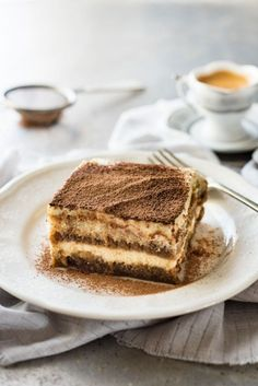 Tiramisu is easy to
