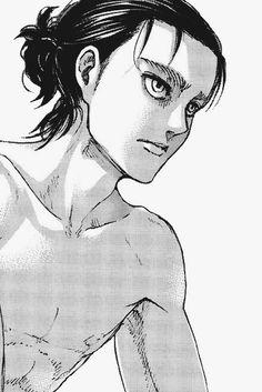 Eren - ch107 Manga Anime, Manga Art, Anime Guys, Anime Art, Attack On Titan Eren, Attack On Titan Fanart, Aot Gifs, Aot Characters, Titans Anime