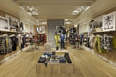 Lucky Brand store by MNA Santa Monica  California