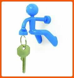 Jackie Blue Key Pete Strong Magnetic Key Holder Hook Rack Magnet - Fun stuff and gift ideas (*Amazon Partner-Link)