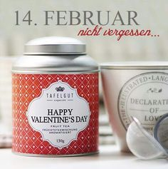 Happy Valentines Day Tea