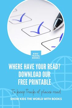 We're all about reading by setting, so if you want to make a checklist of places you've read about - this download is for you! Free Reading, Travel With Kids, Book Lists, Travel Books, Childrens Books, Free Printables, Places, Posts, How To Make