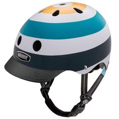 These fun, comfortable and safe helmets are designed for the 3-6 year age group: Toddlers who are on the go, using their first scooter, balance bike,or bicycle.  Discover the Little Nutty Radio Wave helmet http://www.cyclestyle.com.au/product/radio-wave-little-nutty-helmet/