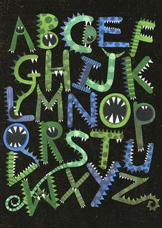 """Des couvertures de cahiers """"monstres"""" - Caracolus"""