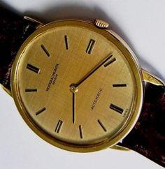 Vacheron Constantin watch 18k Geneve 1960's 35mm