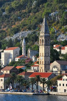 The lovely town of Perast in Bay of Kotor, Montenegro (by jack metthey).