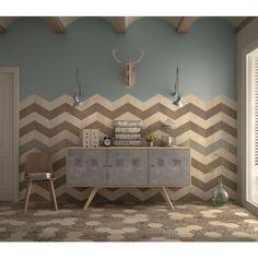 Equipe Ceramicas Rhombus Tiles in Singapore Wall And Floor Tiles, Wall Tiles, Rhombus Tile, Chevron Tile, Tile Suppliers, Tile Design, Cubes, House Colors, Flooring