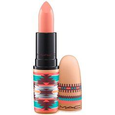 Mac Vibe Tribe Lipstick ($18) ❤ liked on Polyvore featuring beauty products, makeup, lip makeup, lipstick, lips, beauty, pure vanity, mac cosmetics and mac cosmetics lipstick