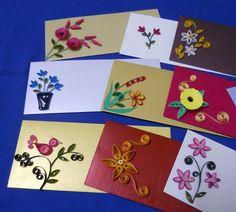 Quilling on envelopes Quilling Craft, Quilling Patterns, Paper Quilling Tutorial, Paper Quilling Designs, Quilling Flowers, Paper Flowers, Diwali Cards, Money Envelopes, Diy Paper