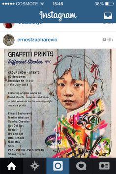 ~ernest zacharevic street art~