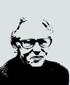 Portrait of Mogens Lassen Danish People, Functionalism, By Lassen, International Style, Signature Design, Danish Design, Bauhaus, School Design, Geometric Shapes