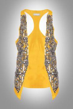 Embellished vest you would love by Vinegar