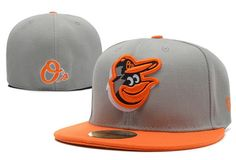 88f2e4f15cd1f Cheap Wholesale MLB Baltimore Orioles 59Fifty Hats Retro Classic Pop Caps  Gray for slae at US