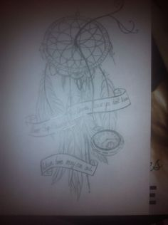 Dream Cather tattoo design -Lizzy Dykes