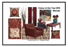 Pantones Colour of Year 2015- Marsala by margaretryall | Olioboard